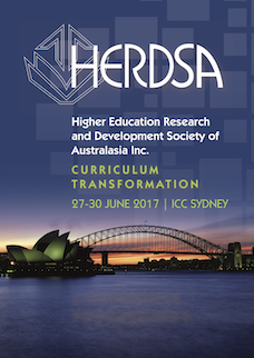 Research and Development in Higher Education: Curriculum